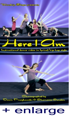 Here I Am - Lyrical/Hip Hop Praise Dance Instruction Video